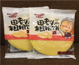 【田老頭】粗糧餅_黑米味玉米味1*3kg_饞嘴公主零